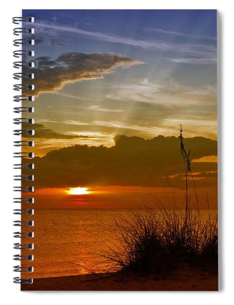 Gorgeous Sunset Spiral Notebook