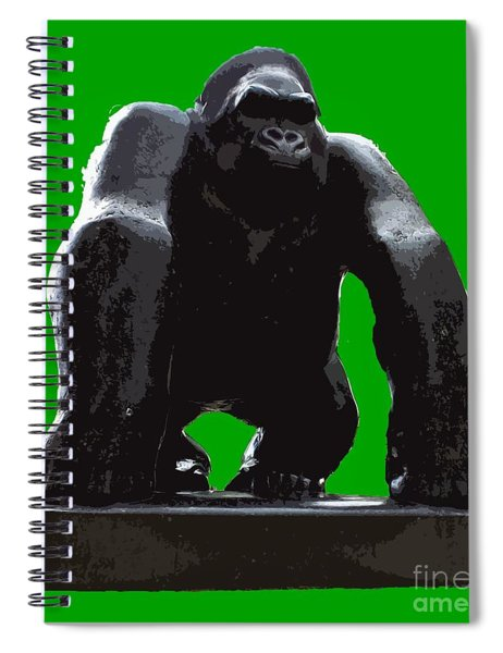 Gorilla Art Spiral Notebook