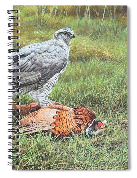 Goshawk Spiral Notebook