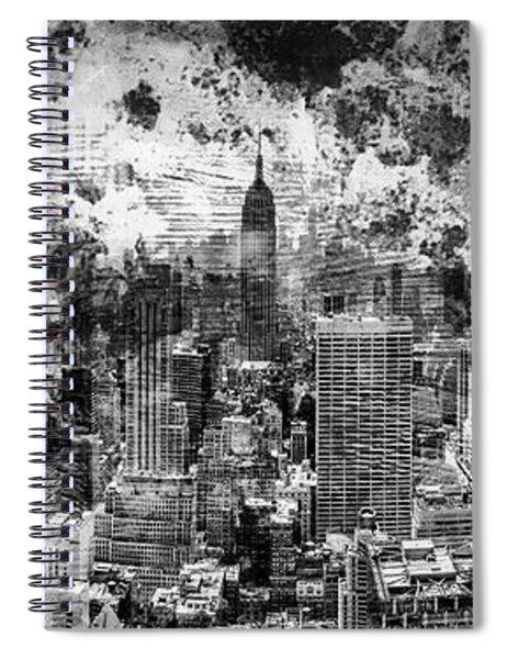 Gotham Castles Spiral Notebook