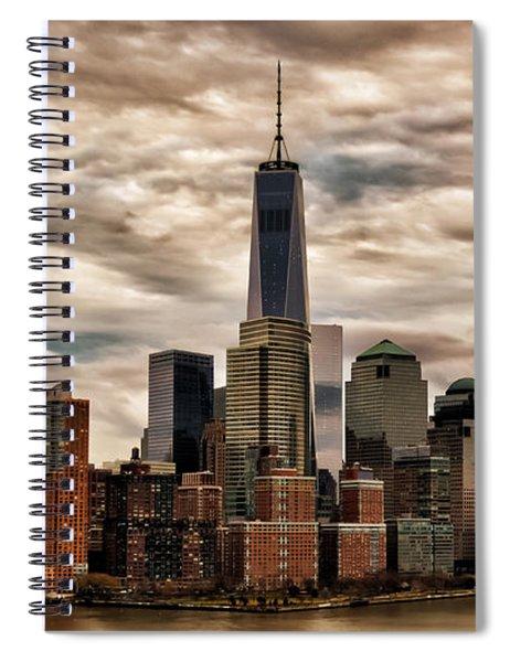 Gotham City Spiral Notebook