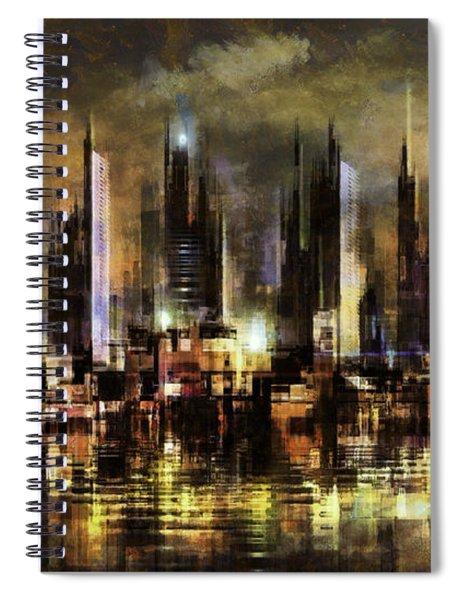 Gotham City IIi Spiral Notebook
