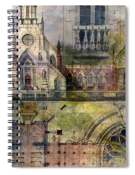 Gothic Spiral Notebook