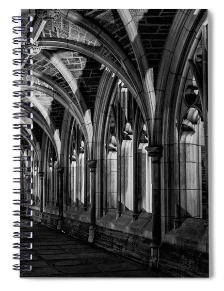 Gothic Arches Spiral Notebook