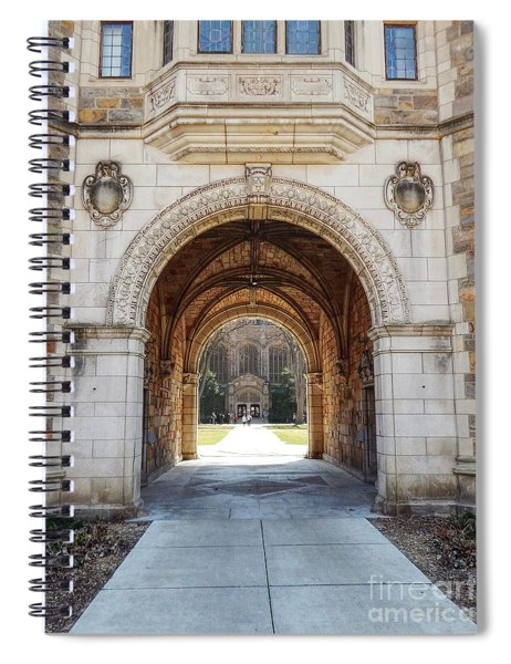 Gothic Archway Photography Spiral Notebook