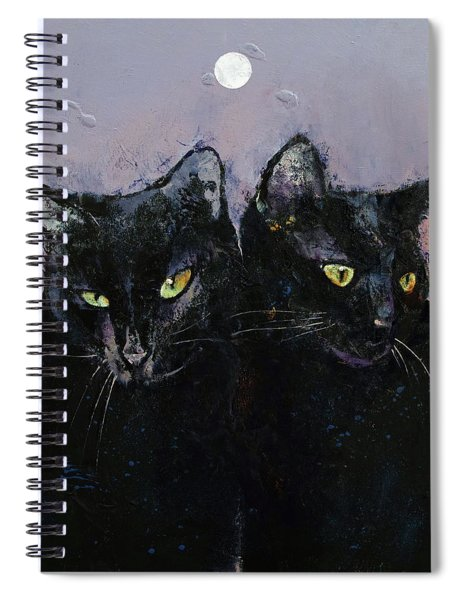 Gothic Cats Spiral Notebook