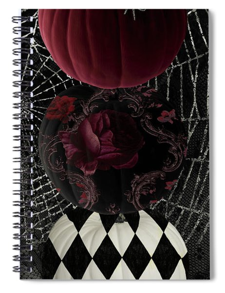 Gothic Halloween Spiral Notebook