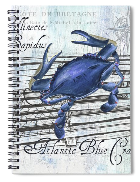Gourmet Shellfish 1 Spiral Notebook