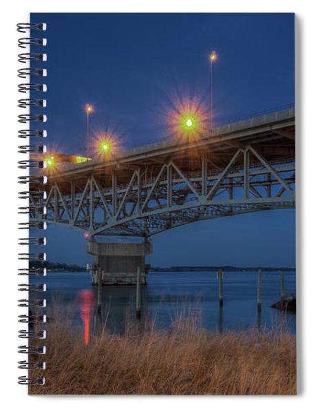 G.p. Coleman Bridge Spiral Notebook