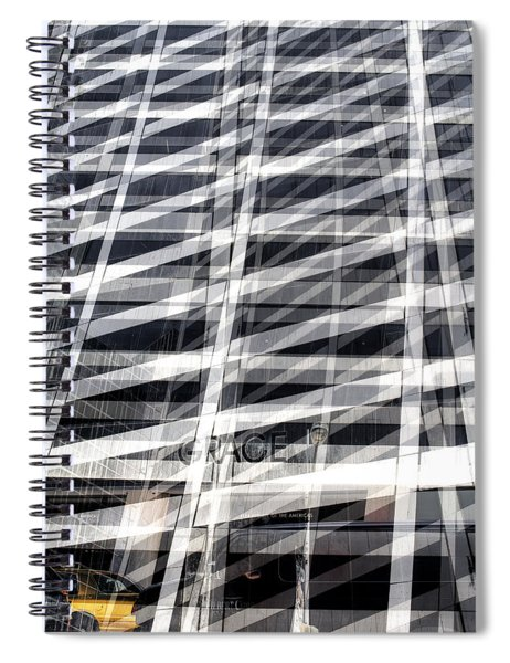 Grace Building Collage 2 Spiral Notebook