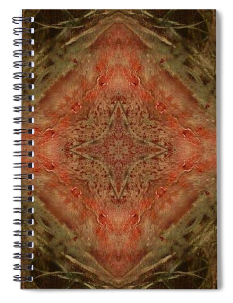 Grace Mandala Spiral Notebook