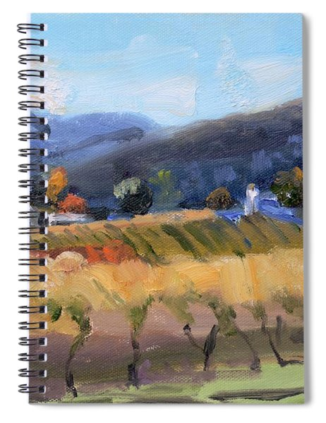 Grace Estate Winery Charlottesville Va Spiral Notebook