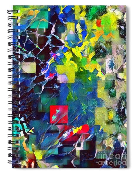 Graceful II Spiral Notebook
