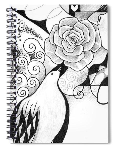Gracefully Spiral Notebook