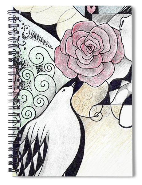 Gracefully - In Color Spiral Notebook