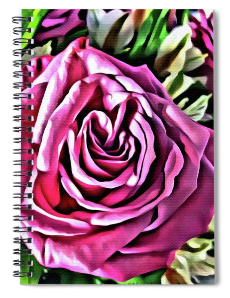 Gracious Rose Spiral Notebook