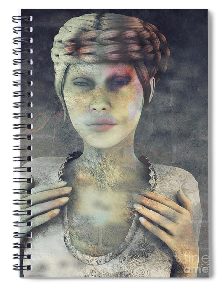 Gradual Fossilization Spiral Notebook