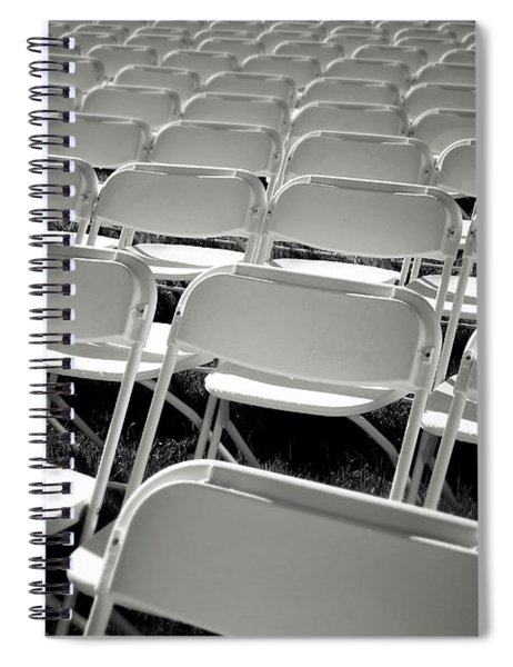 Graduation Day- Black And White Photography By Linda Woods Spiral Notebook