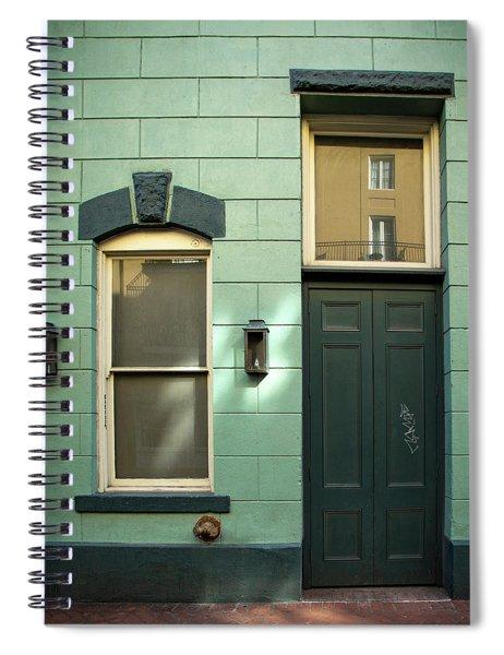 Graffiti Door Spiral Notebook