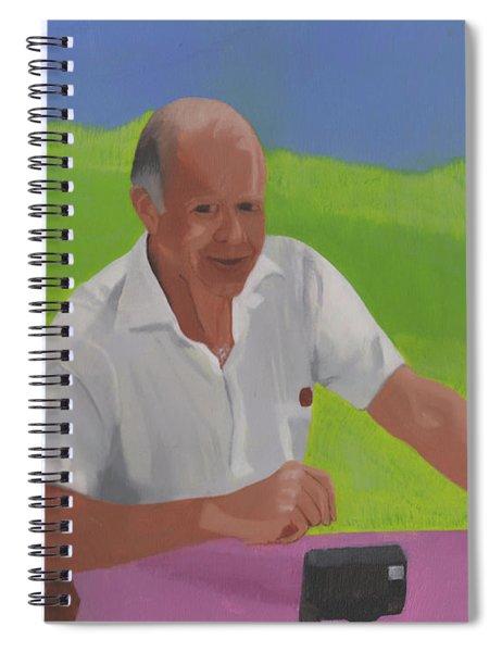 Grampa Wiegand Spiral Notebook