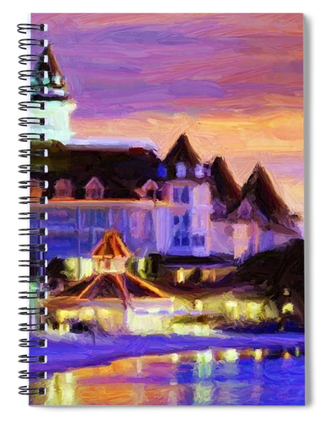 Grand Floridian Spiral Notebook