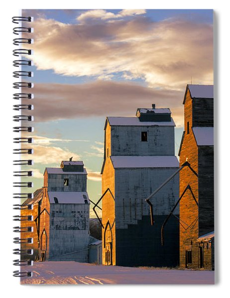 Granary Row Spiral Notebook