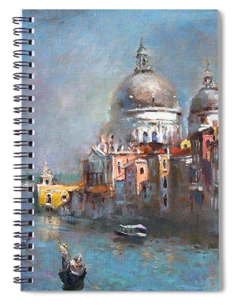Grand Canal Venice 2 Spiral Notebook