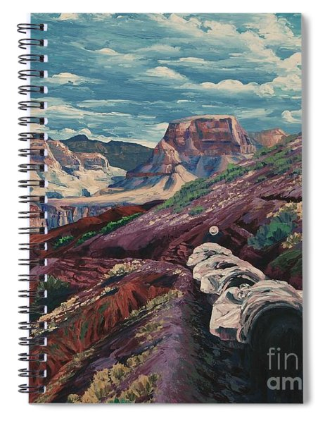 Grand Canyon Mule Skinners Spiral Notebook
