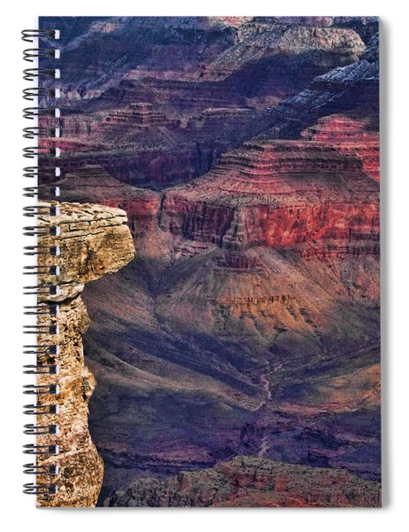 Grand Canyon Stacked Rock Spiral Notebook