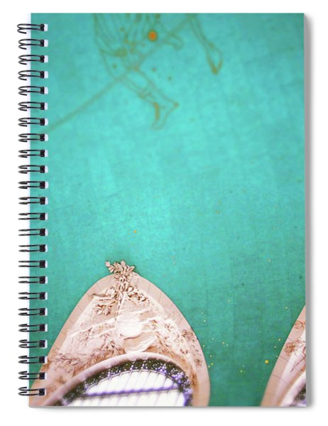 Grand Central Windows- By Linda Woods Spiral Notebook
