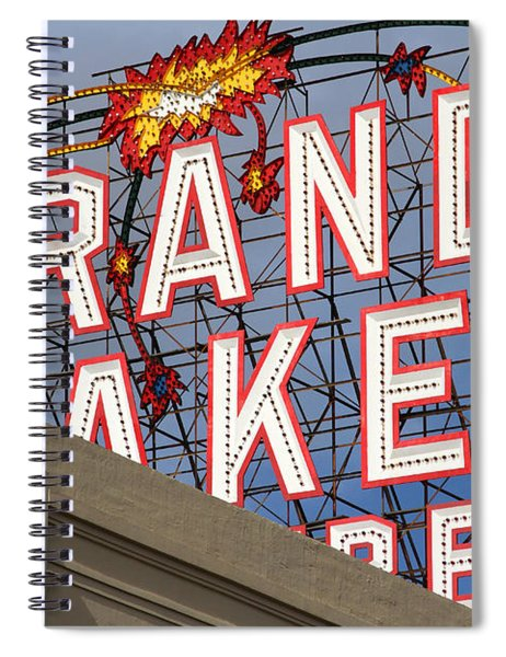 Grand Lake Theatre . Oakland California . 7d13495 Spiral Notebook