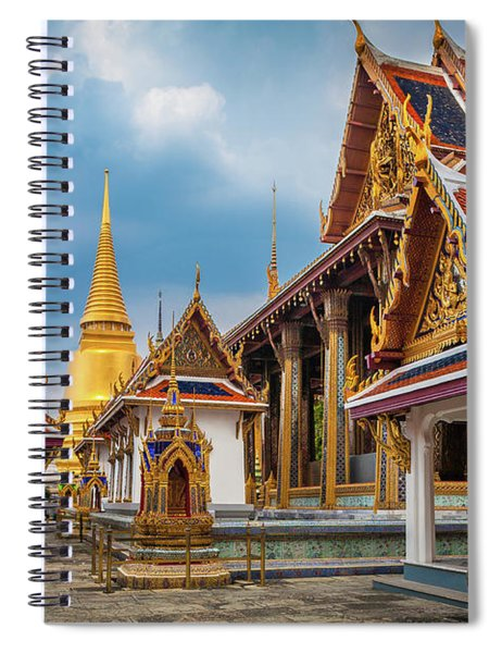 Grand Palace Square Spiral Notebook