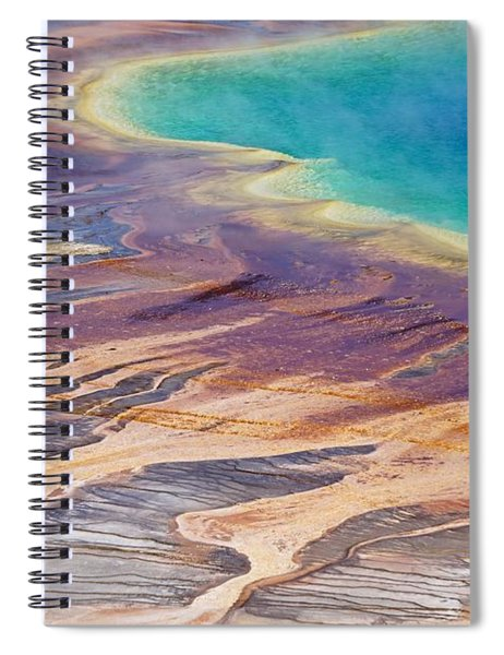 Grand Prismatic Spring 2 Spiral Notebook