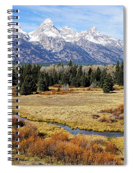 Grand Teton Spiral Notebook
