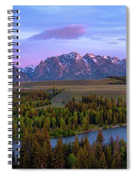 Grand Tetons Spiral Notebook