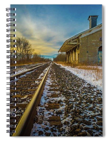 Grand Trunk Station  Spiral Notebook