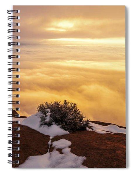 Grand View Glow Spiral Notebook