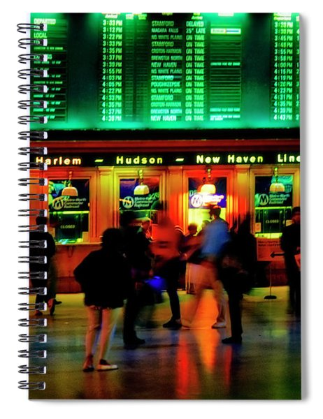 Grand Central Station Nyc Spiral Notebook