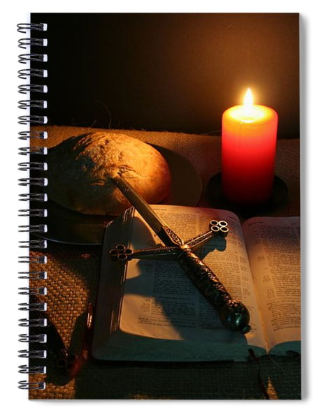 Grandfathers Bible Spiral Notebook