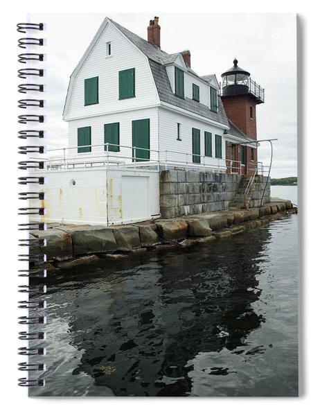 Grandfathers Lighthouse Spiral Notebook