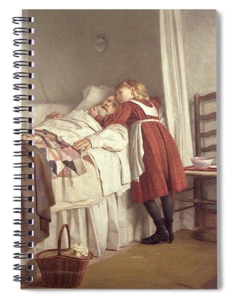 Grandfathers Little Nurse Spiral Notebook