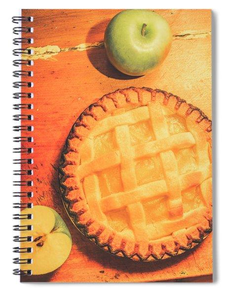 Grandmas Homemade Apple Tart Spiral Notebook