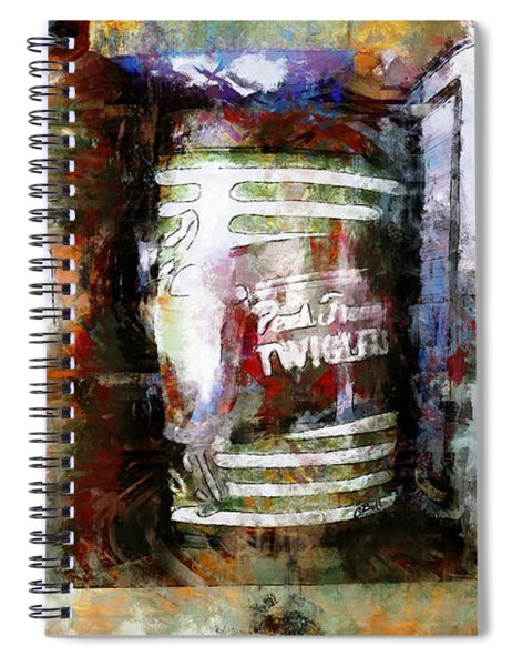 Grandma's Kitchen Tins Spiral Notebook