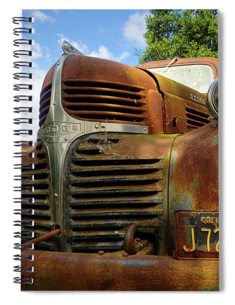 Spiral Notebook featuring the photograph Grandpa by Skip Hunt