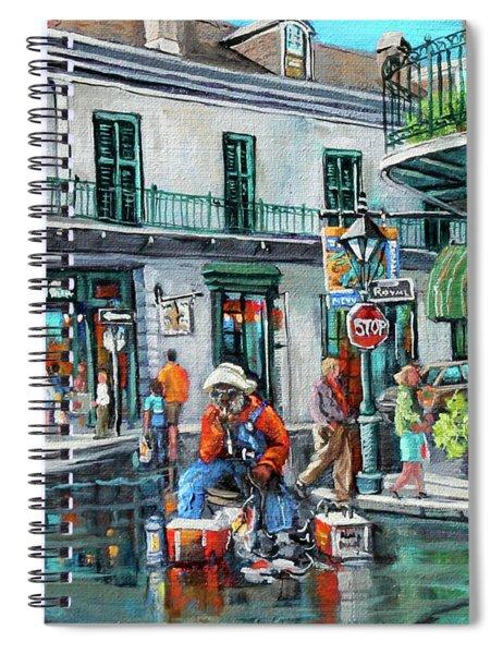 Grandpas Corner Spiral Notebook