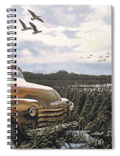Grandpa's Old Truck Spiral Notebook