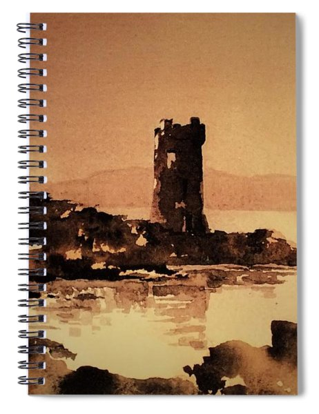 Granuales Castle Achill Mayo Spiral Notebook