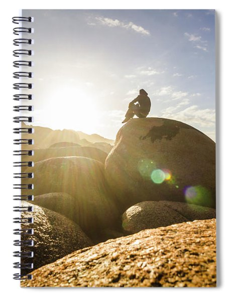 Granville Harbour Reflections Spiral Notebook