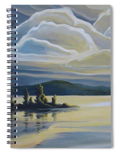 Grape Island Spiral Notebook