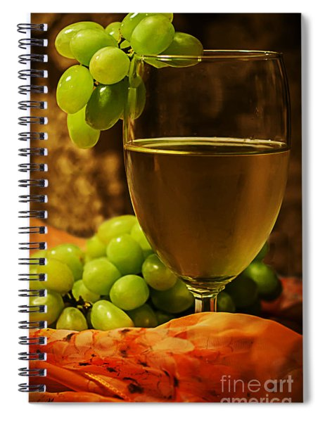 Grape Juice Spiral Notebook